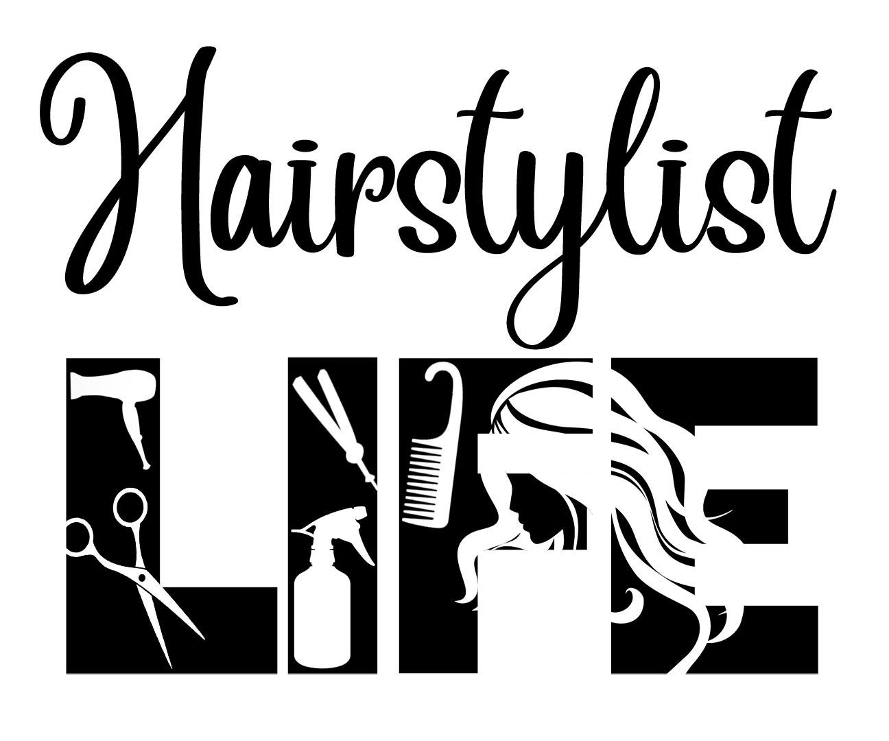Free Hairstylist SVG File