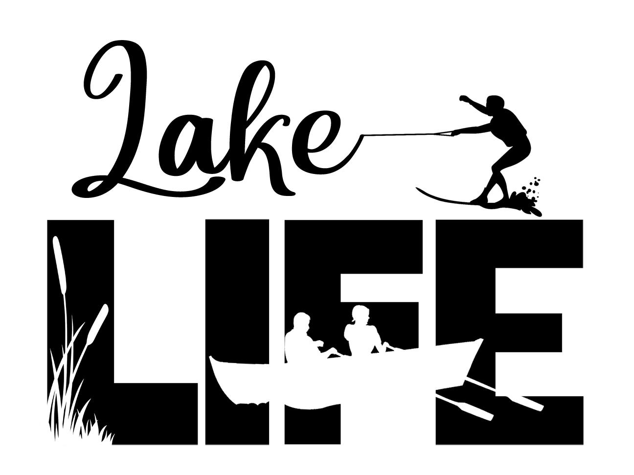 Free Lake Life SVG File