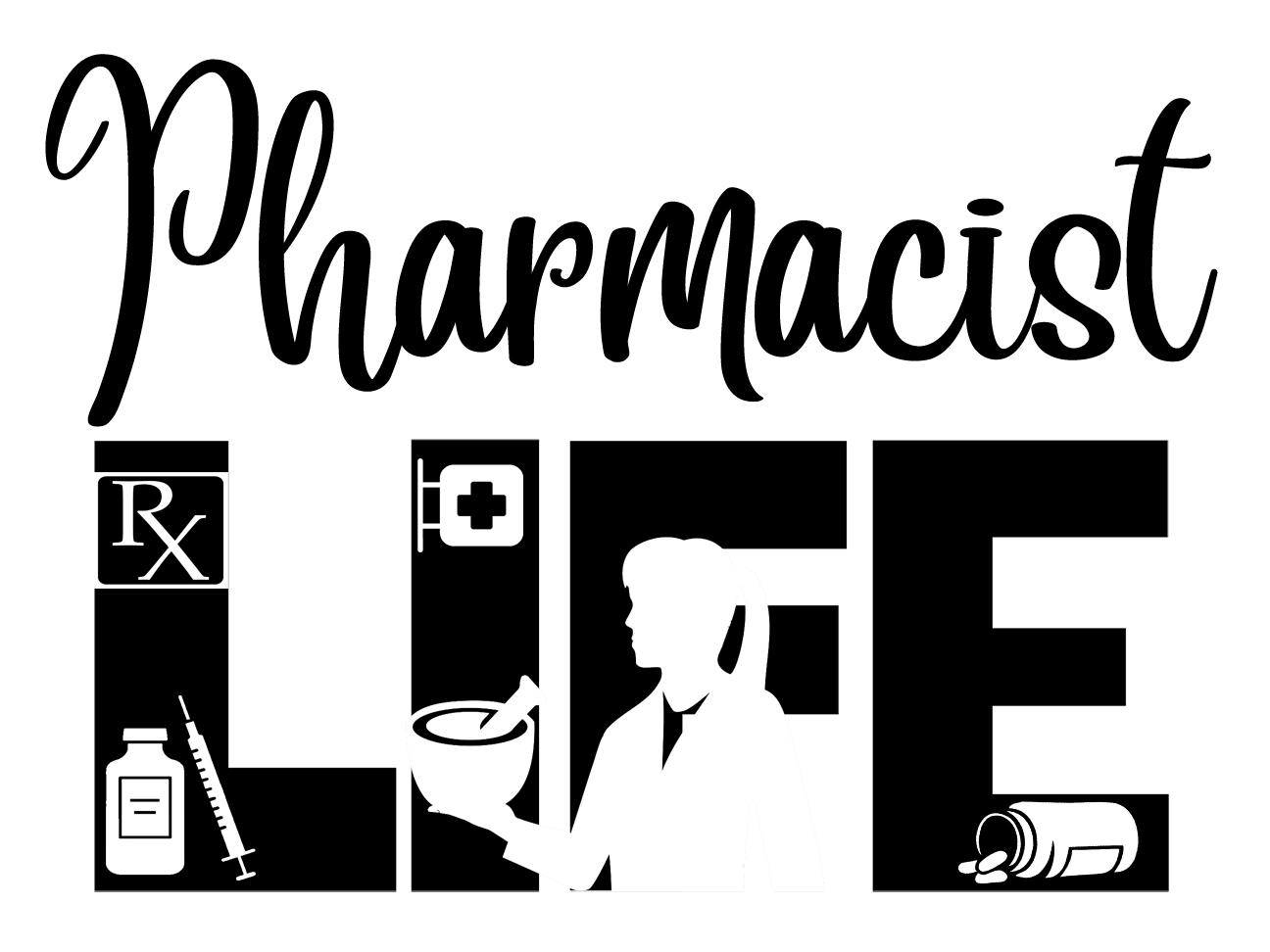 Free Pharmacists Life SVG File