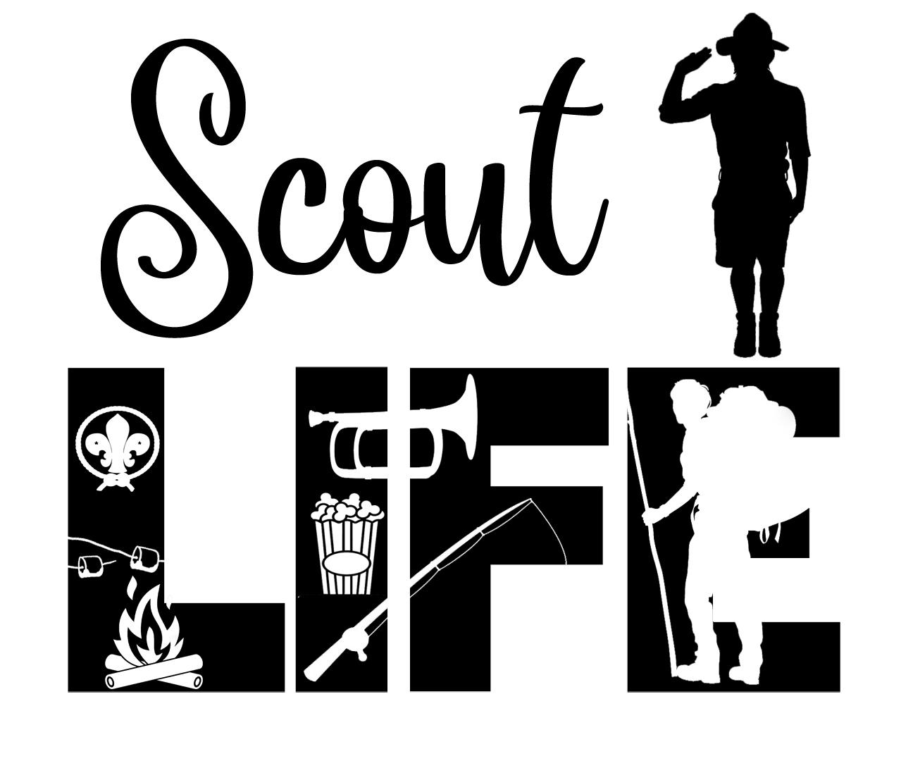 Free Scout Life SVG File