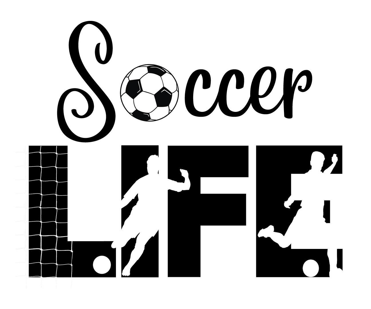 Free Soccer Life SVG File