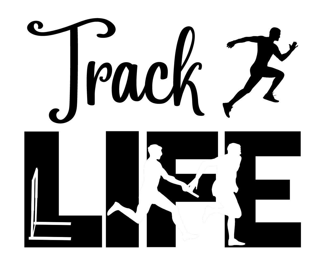 Free Track Life SVG File