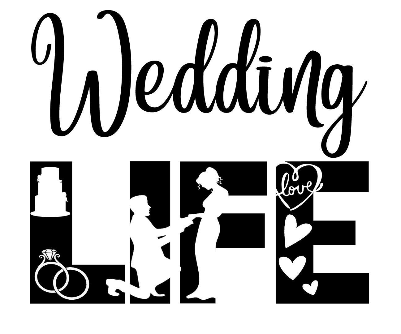 Free Wedding Life SVG File