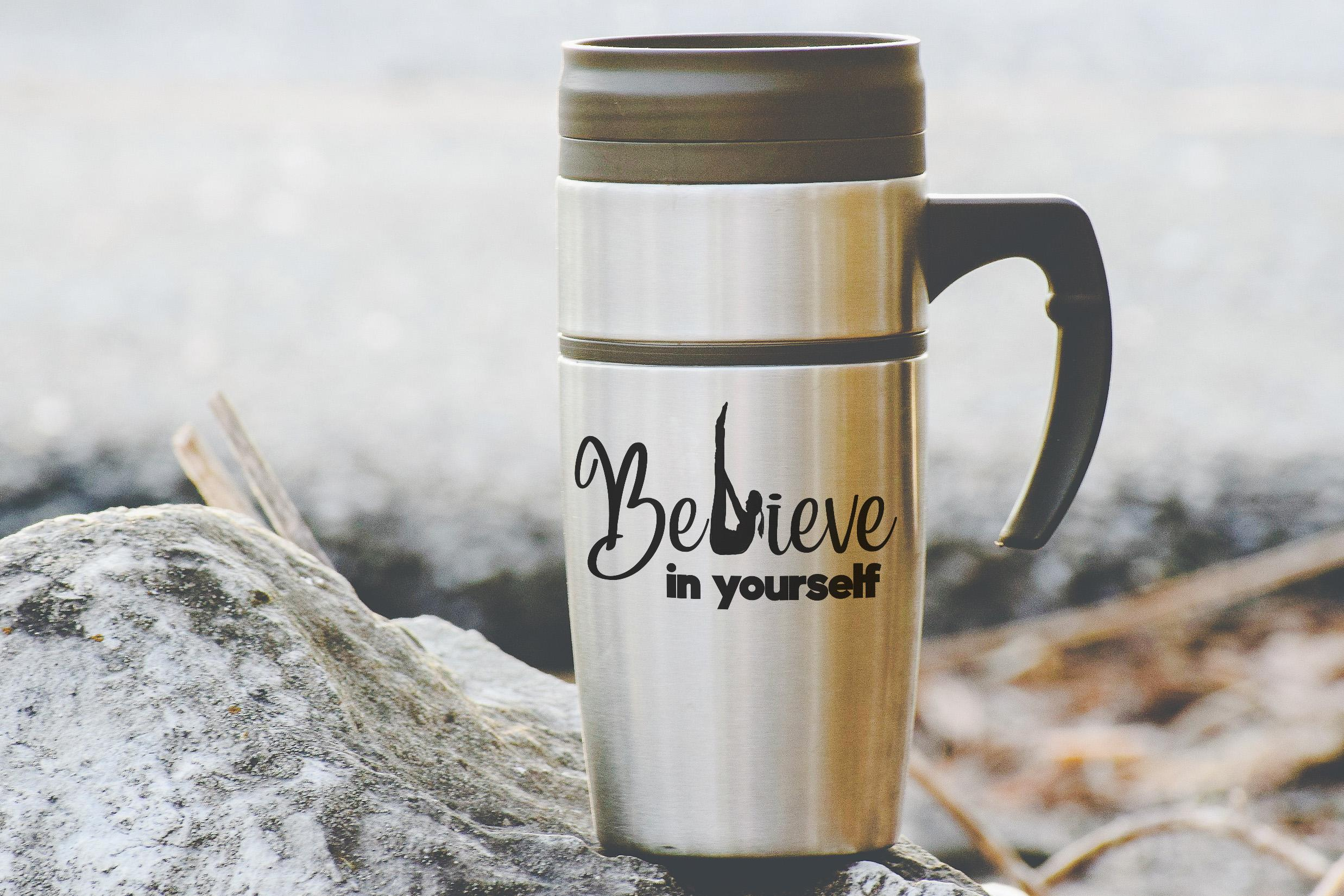 Free Believe in Yourself SVG File