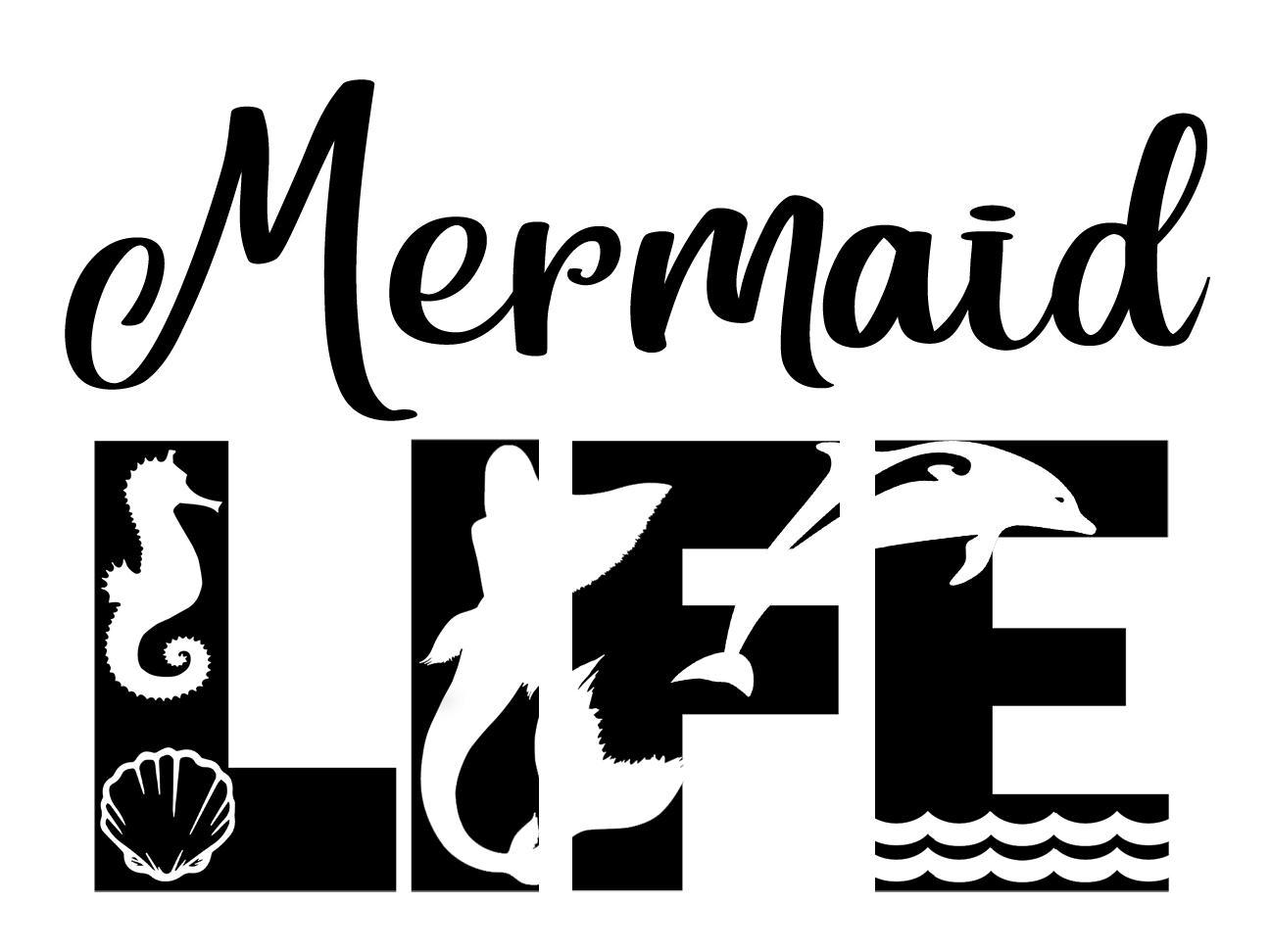 Free Mermaid SVG File