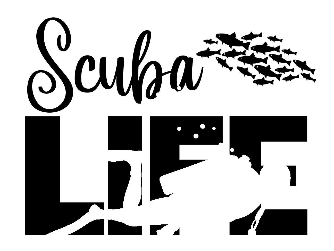 Free Scuba Life SVG File