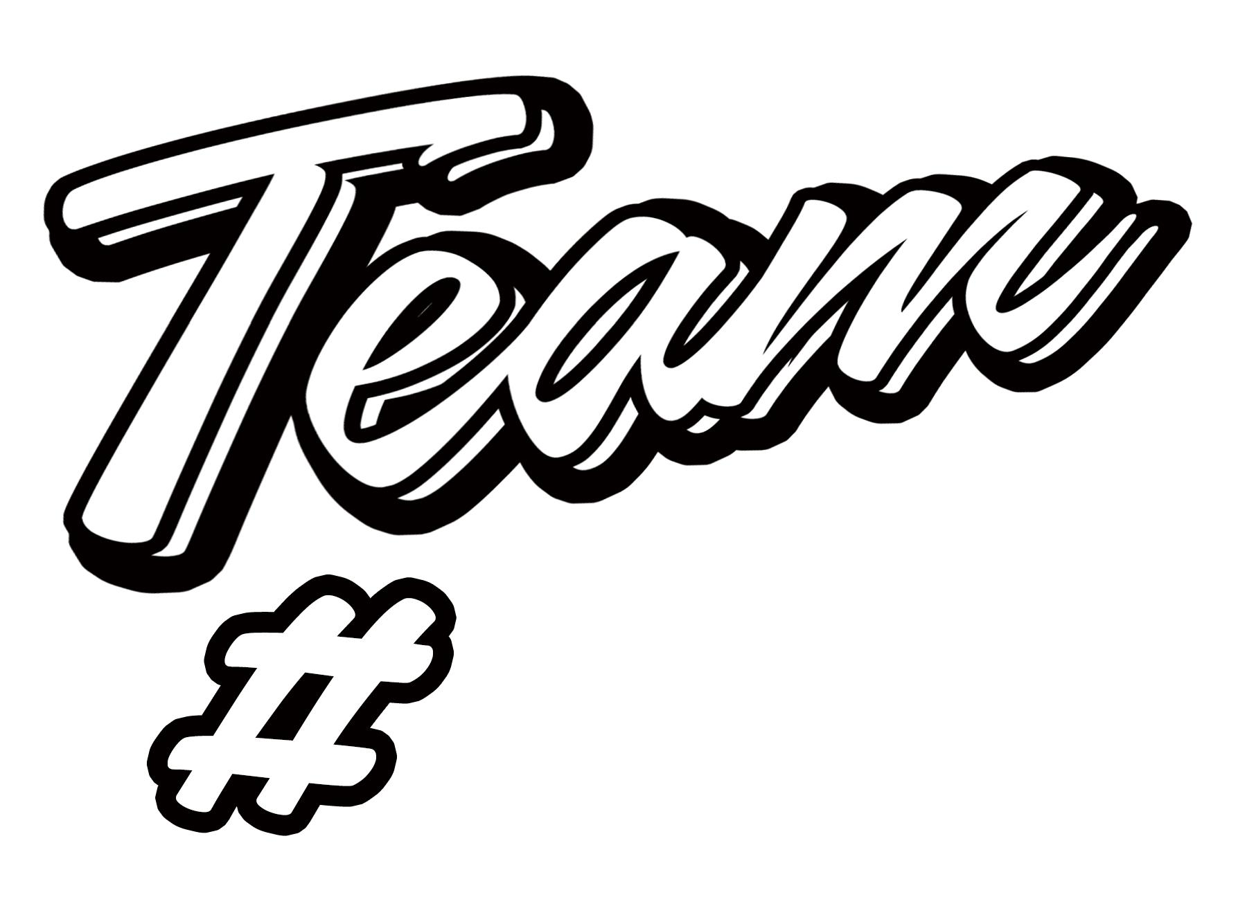 Various Free #Team SVG Files