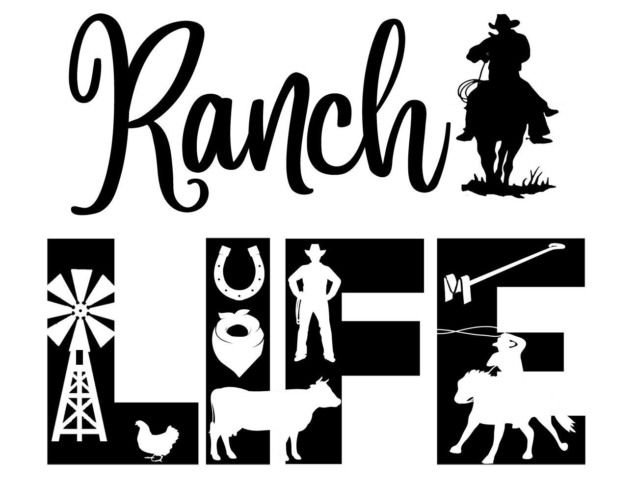 Free Ranch Life SVG File
