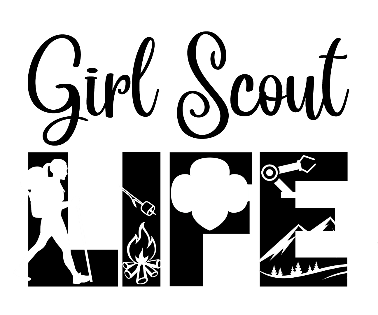Free Girl Scout SVG File