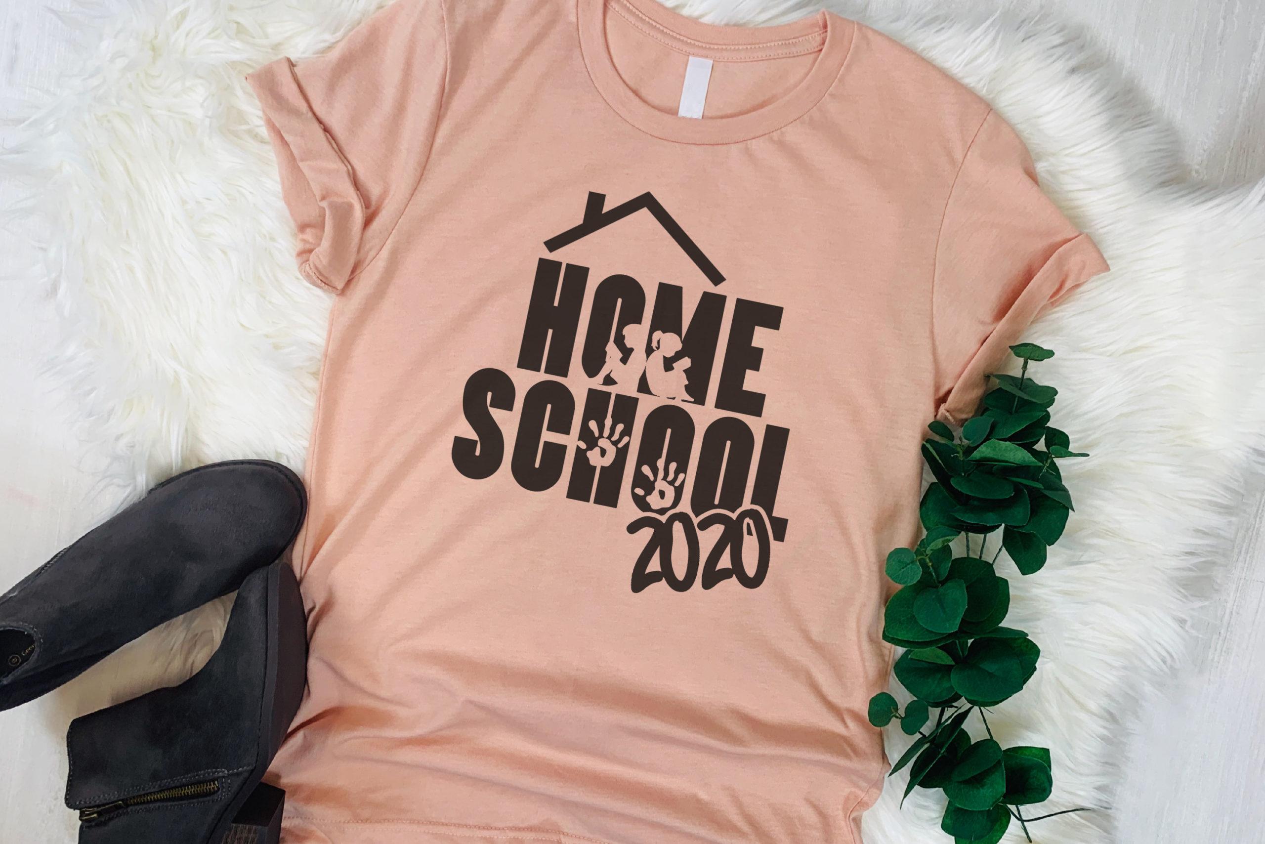Free Home School 2020 SVG File