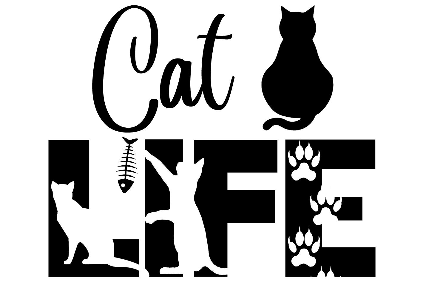 Free Cat Life SVG File