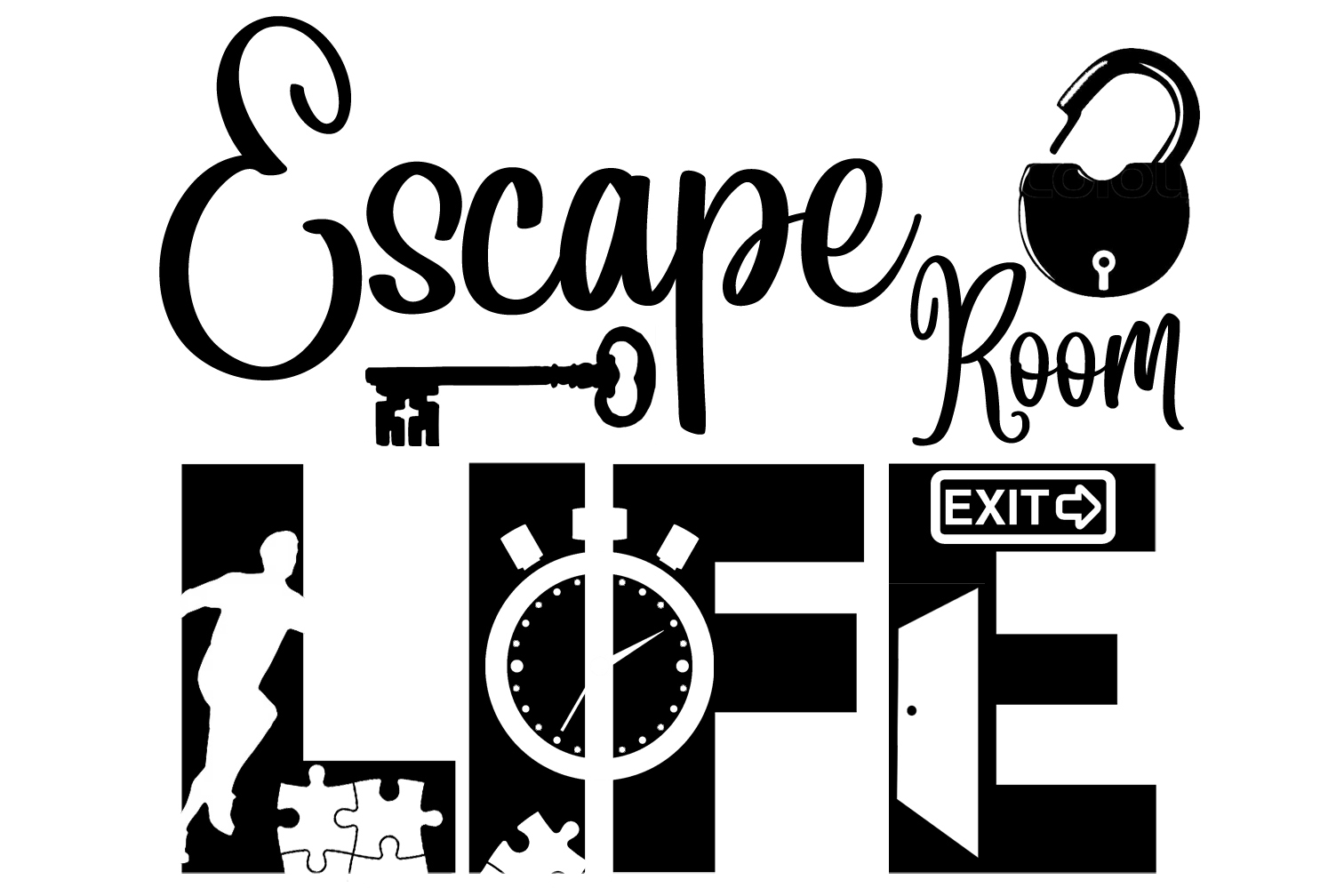 Free Escape Room Life SVG