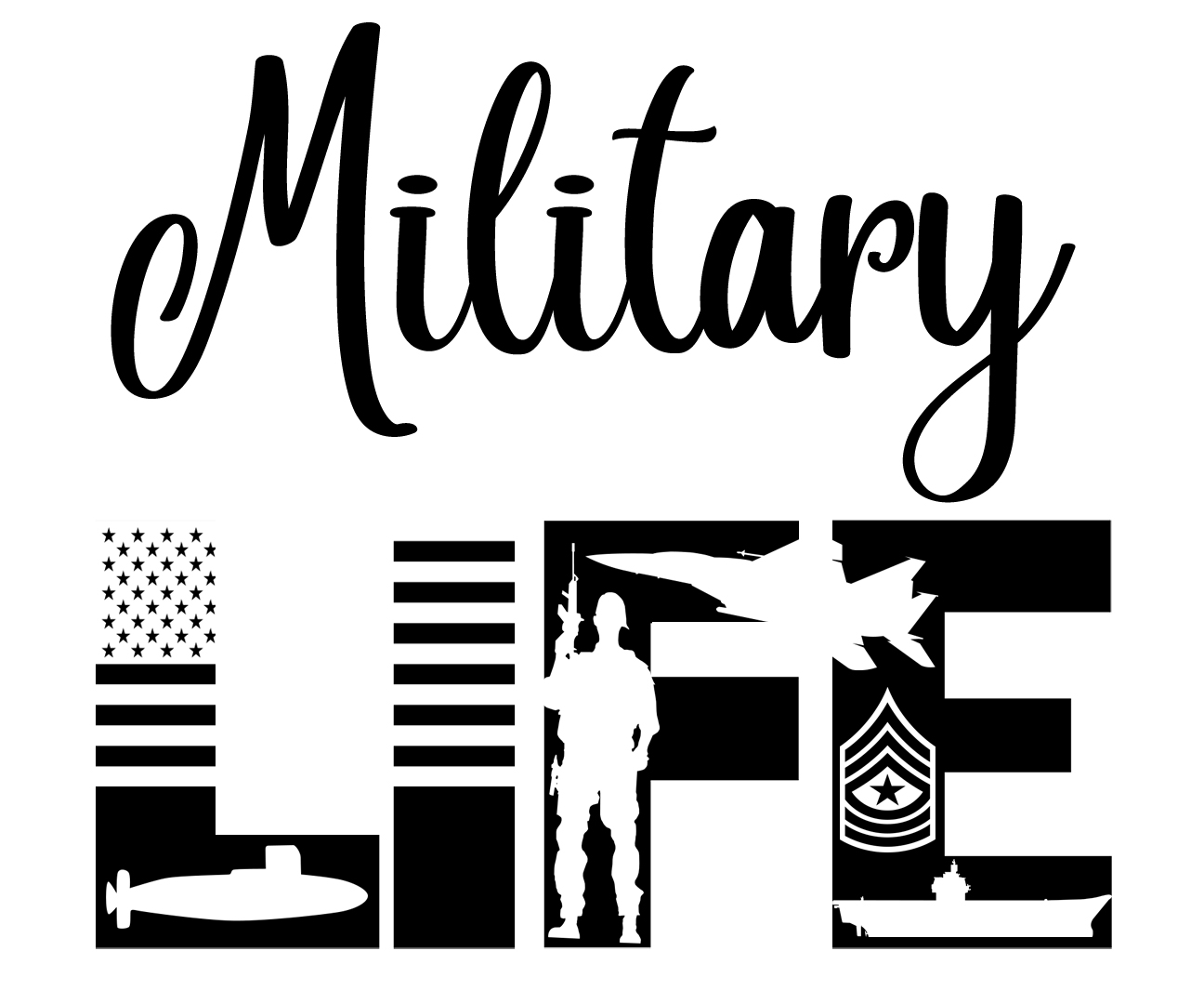 Free Military Life SVG File
