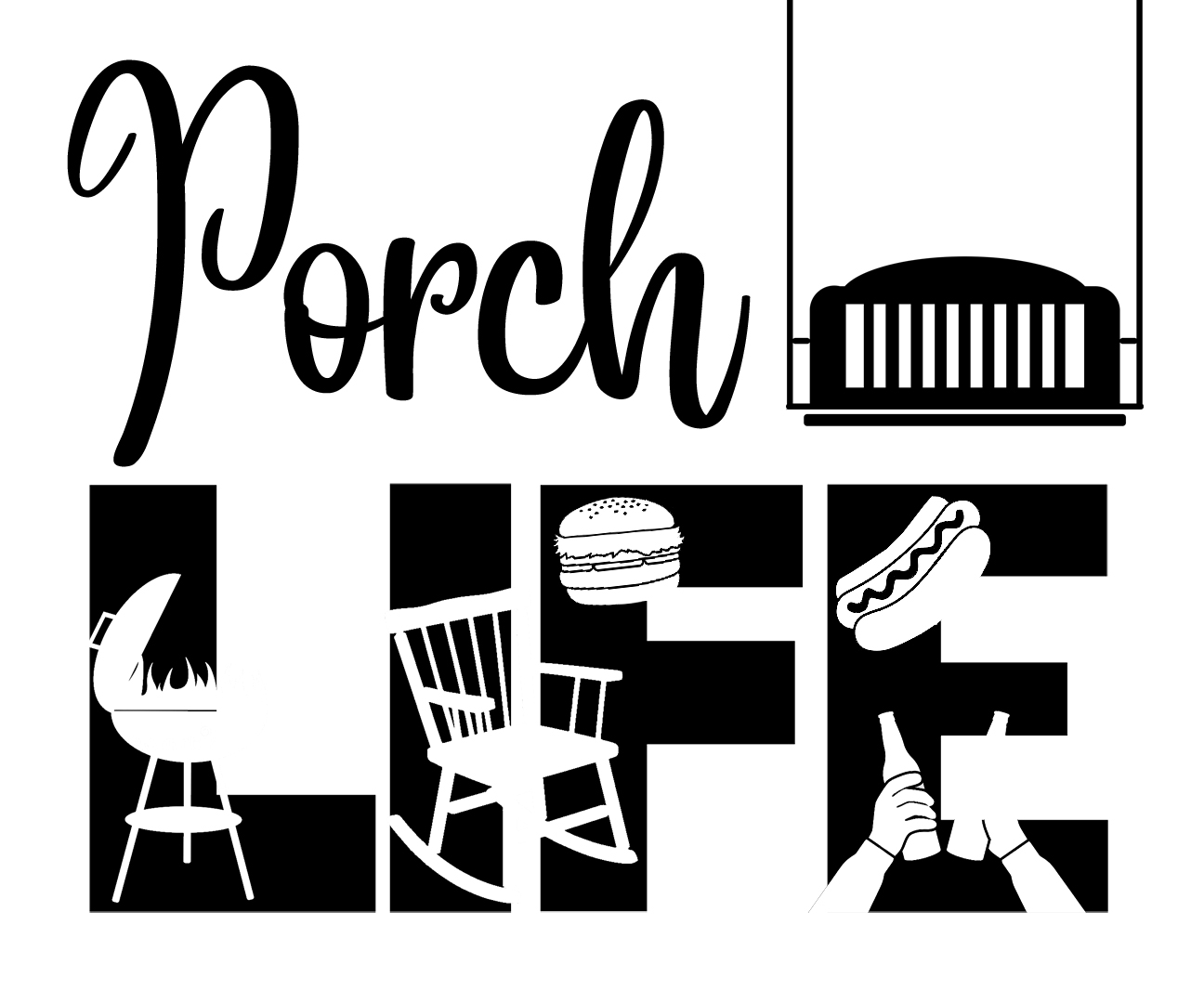 Free Porch Life SVG File