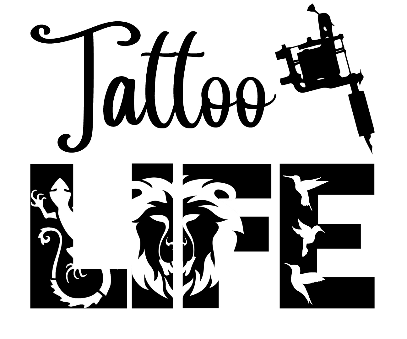 Free Tattoo Life SVG File