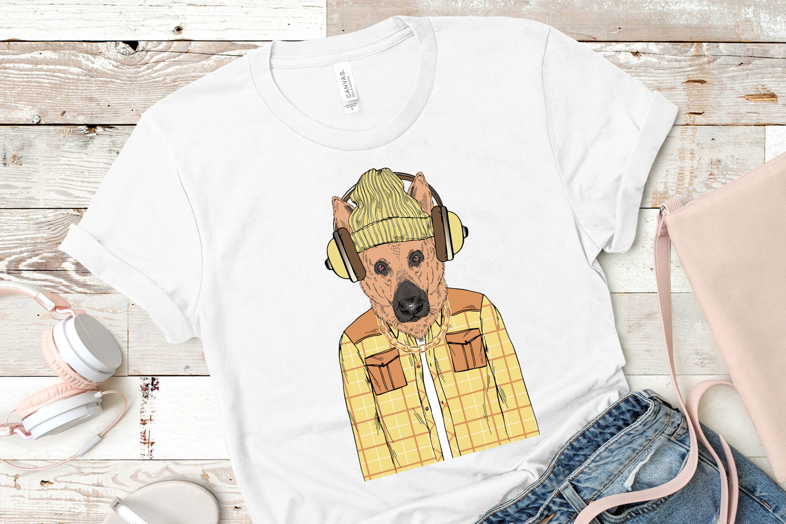 Free Alsatian Sublimation Image
