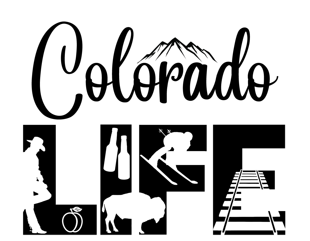 Free Colorado Life SVG File