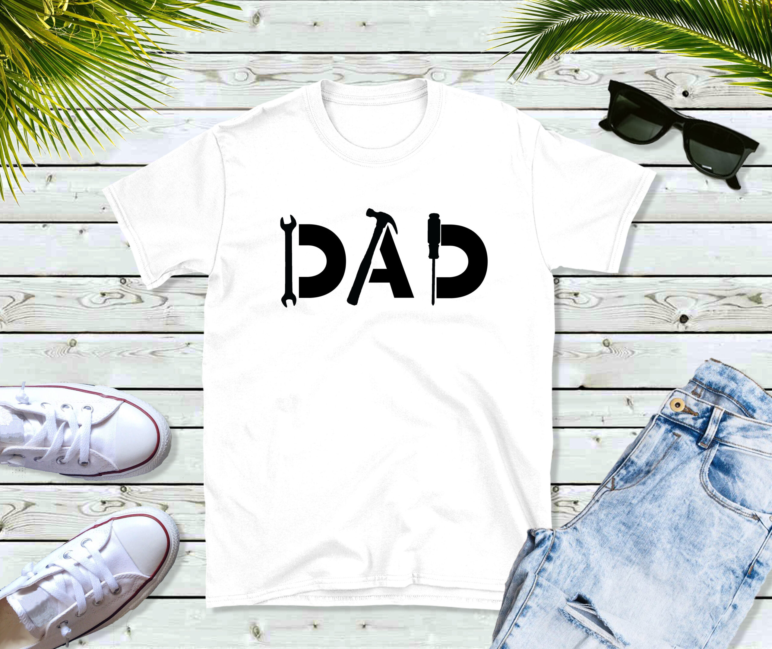 Free DAD Fathers Day SVG File
