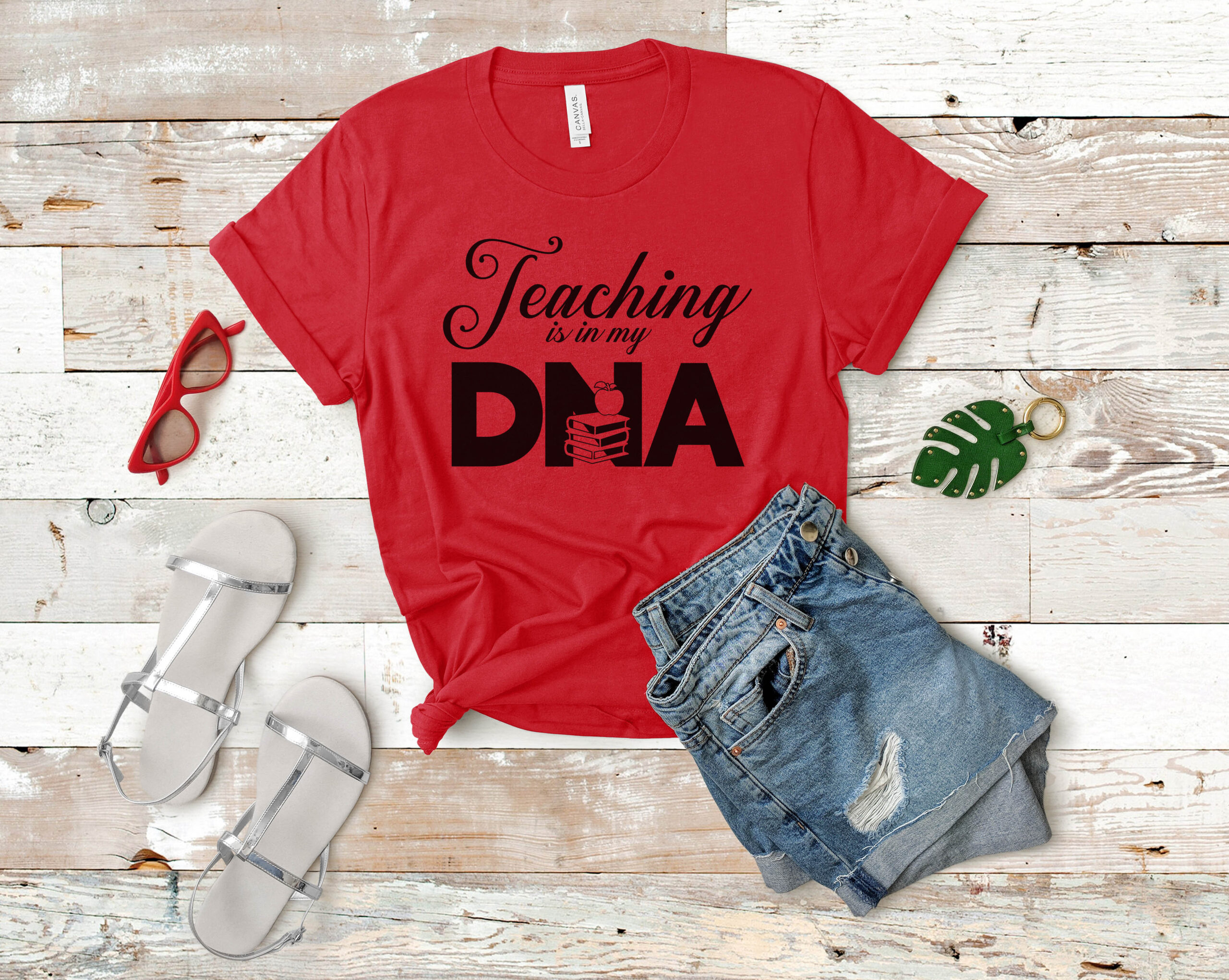 Free Teaching is in my DNA SVG File