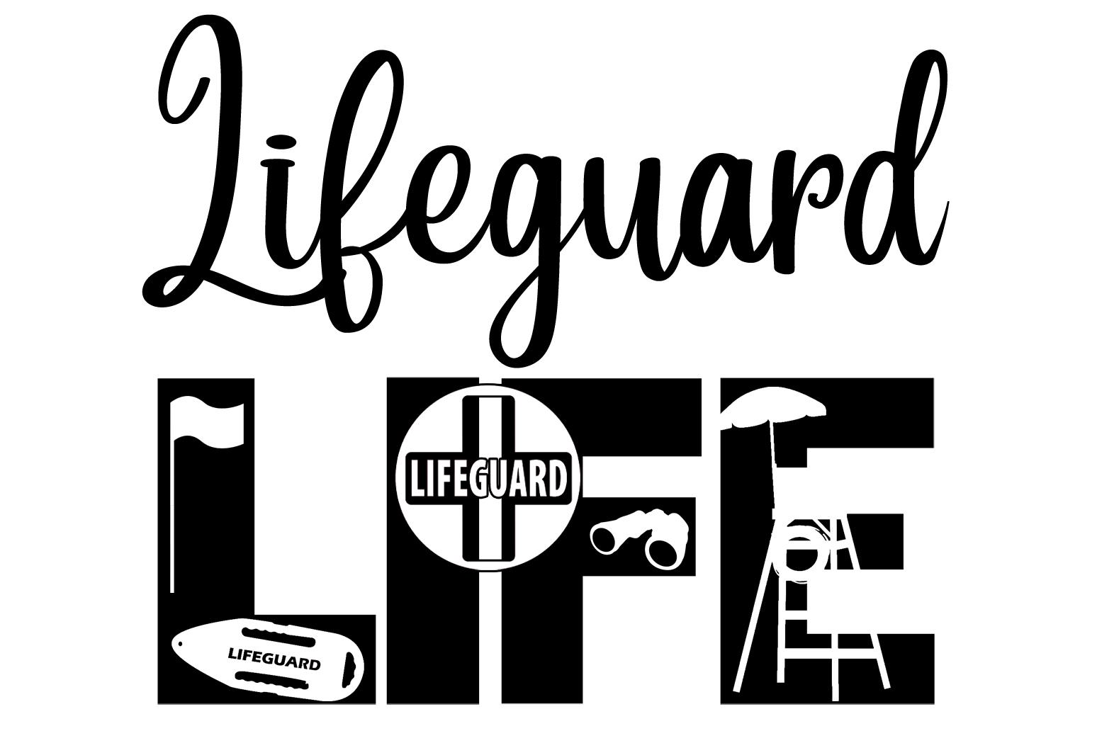 Free Lifeguard SVG File