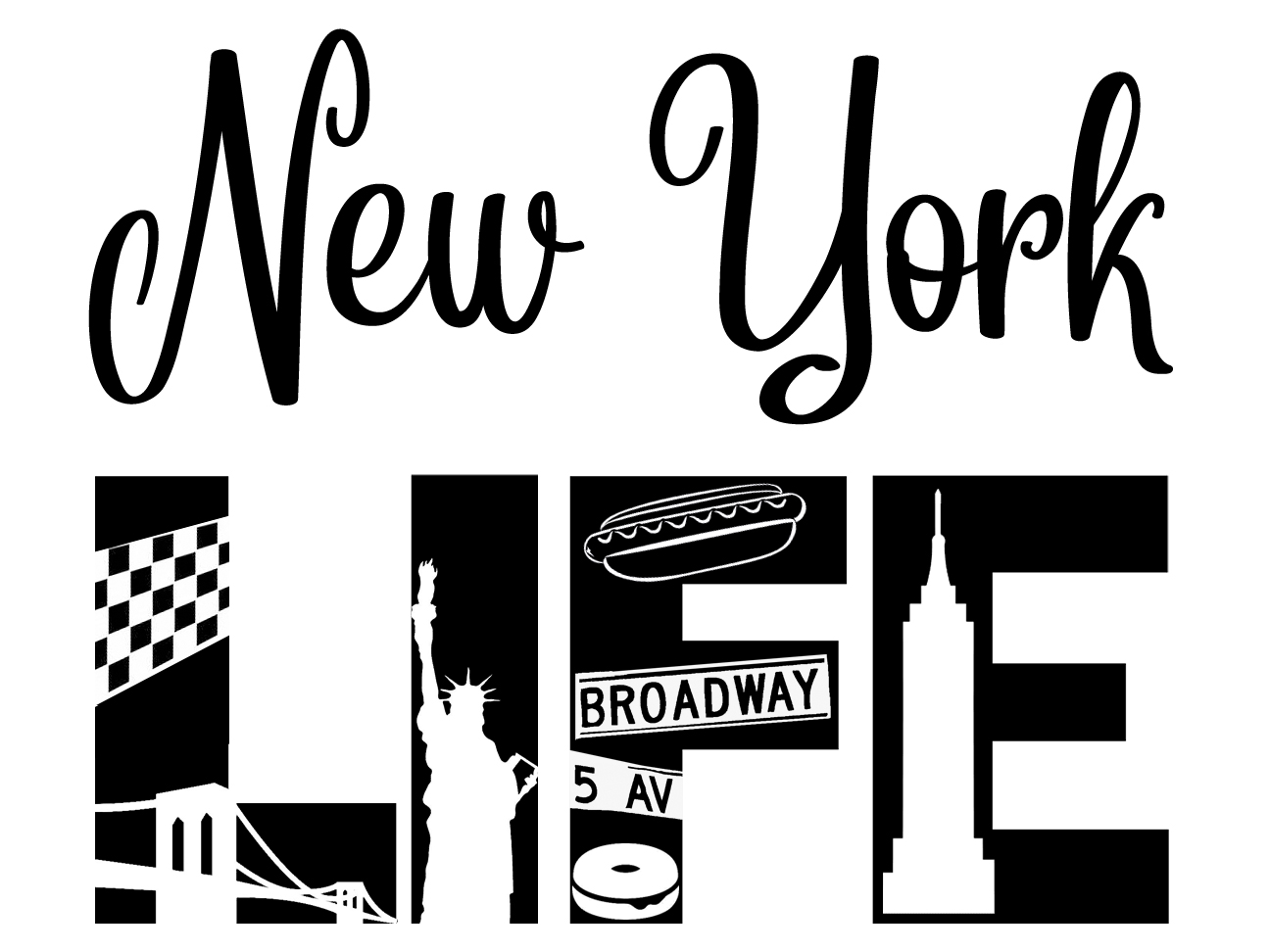 Free New York Life SVG