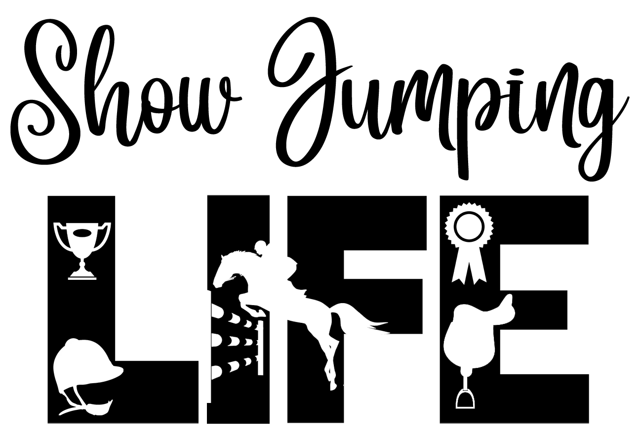Free Show Jumping Life SVG File