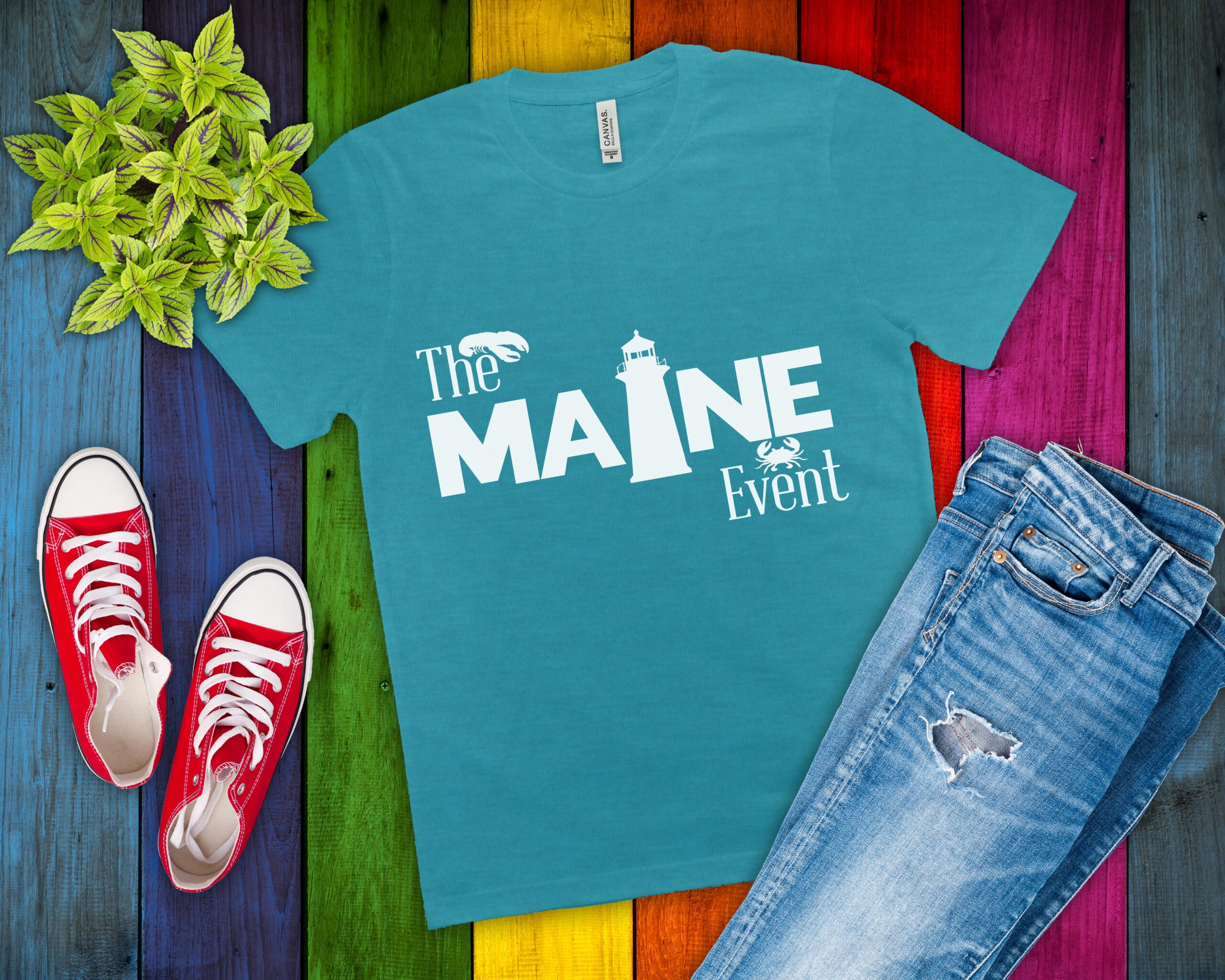 Free The Maine Event SVG File