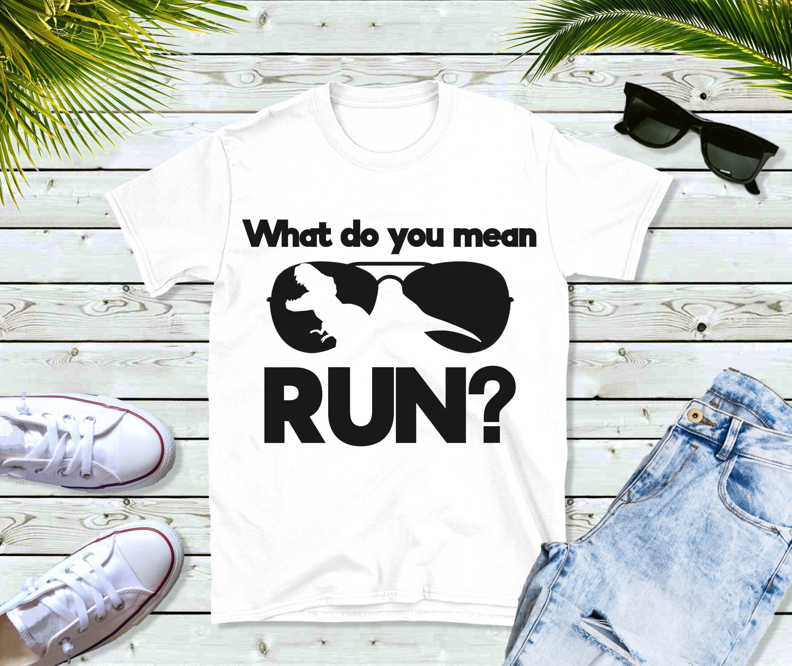 Free What Do You Mean Run? SVG File