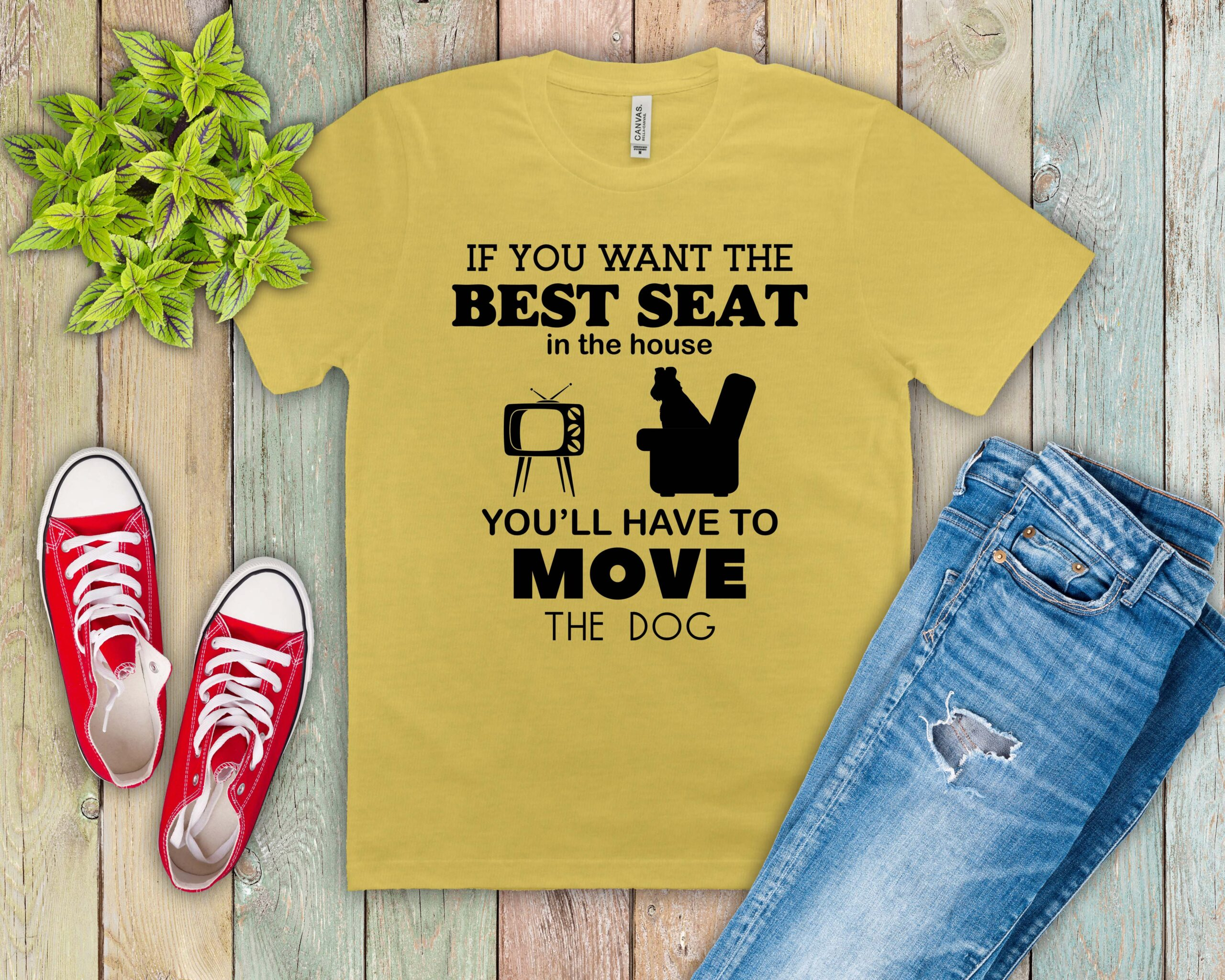 Free Best Seat in the House SVG File