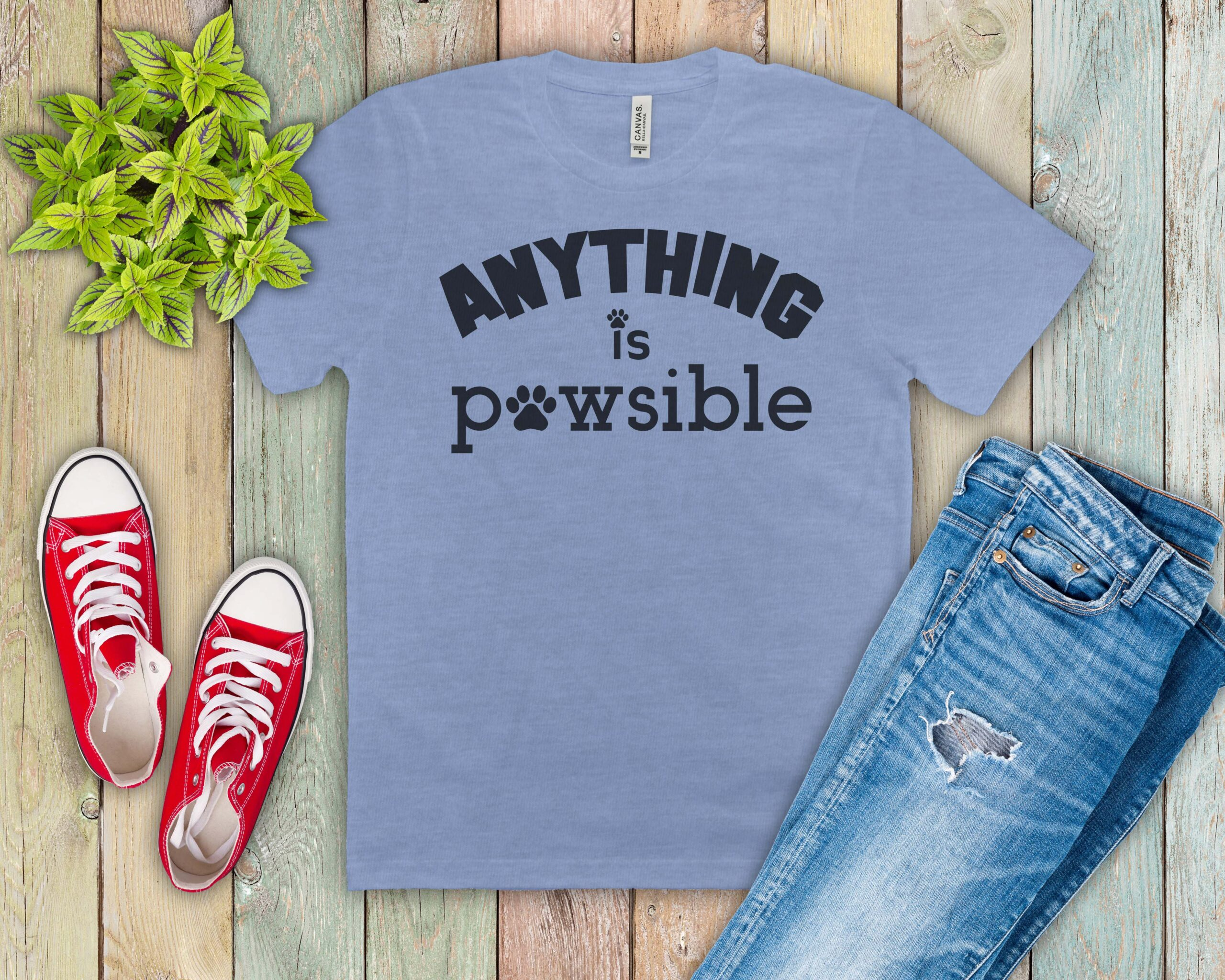 Free Anything is Pawsible SVG File