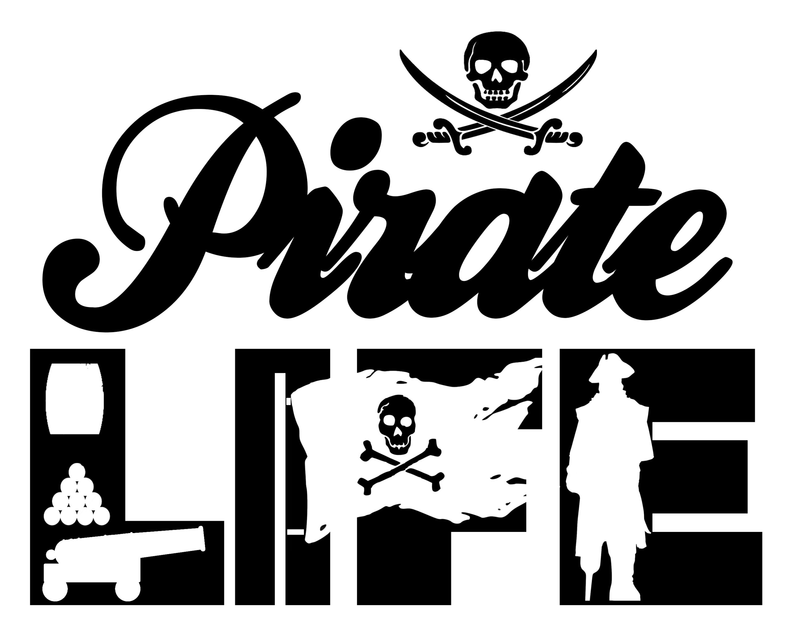 Free Pirate Life SVG File