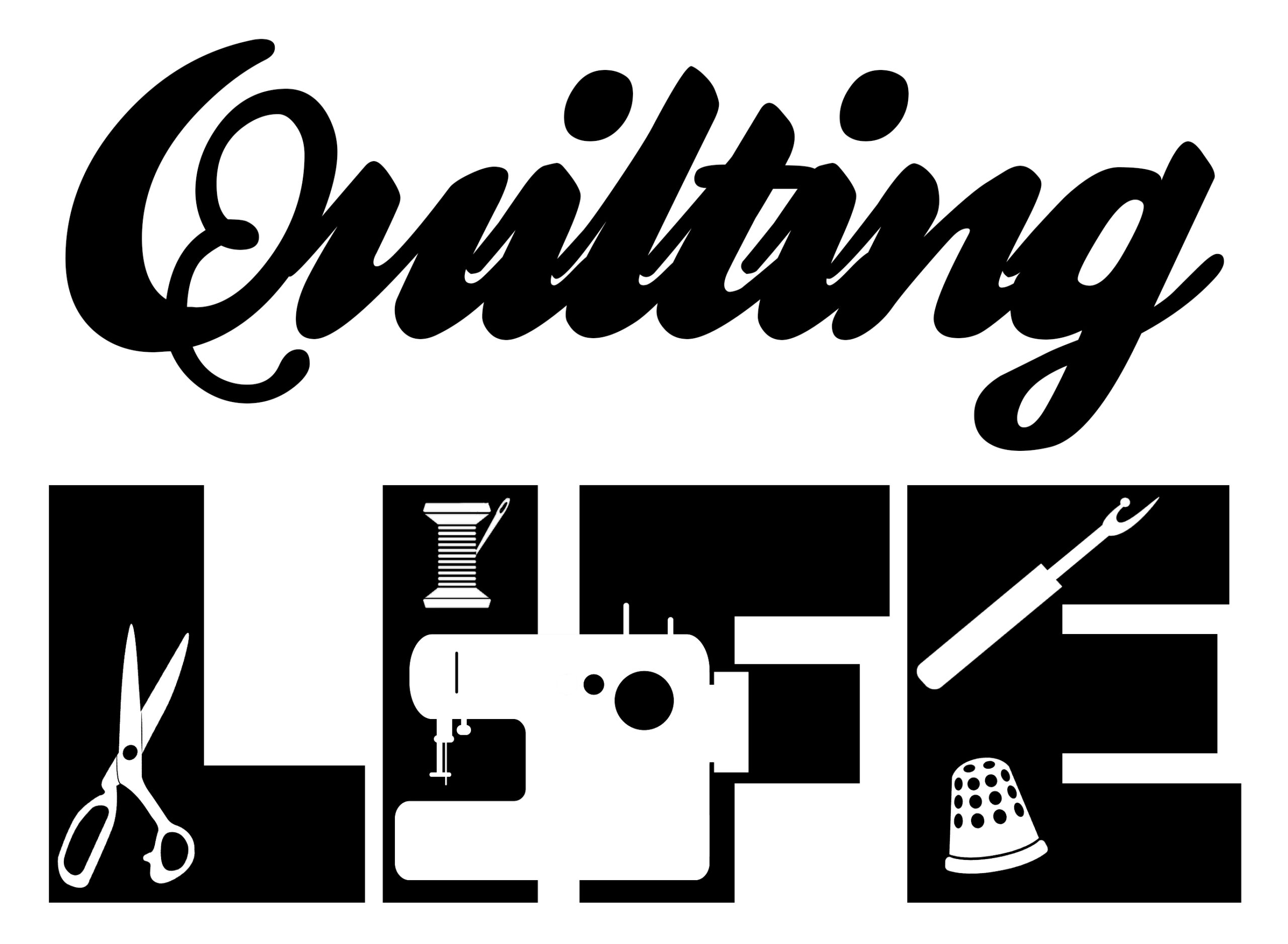 Free Quilting LIFE SVG File