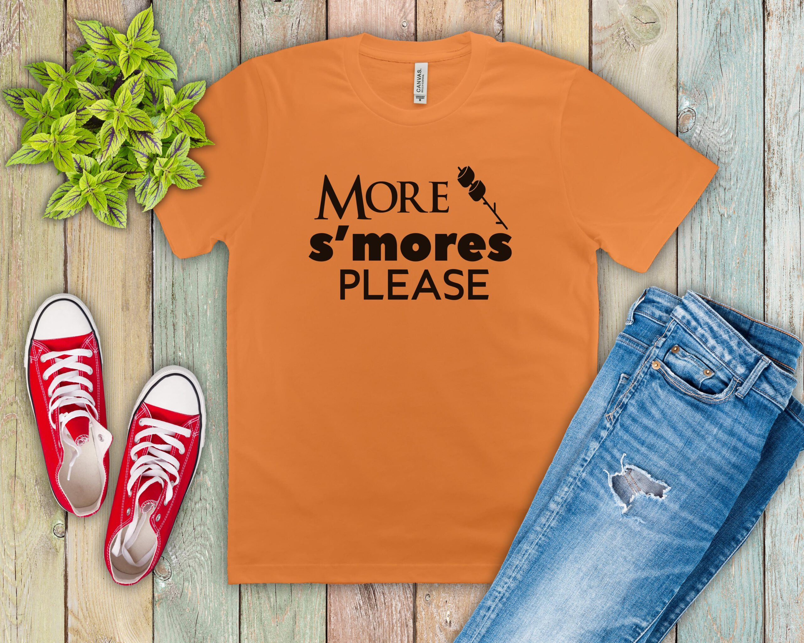 Free More s'mores SVG File