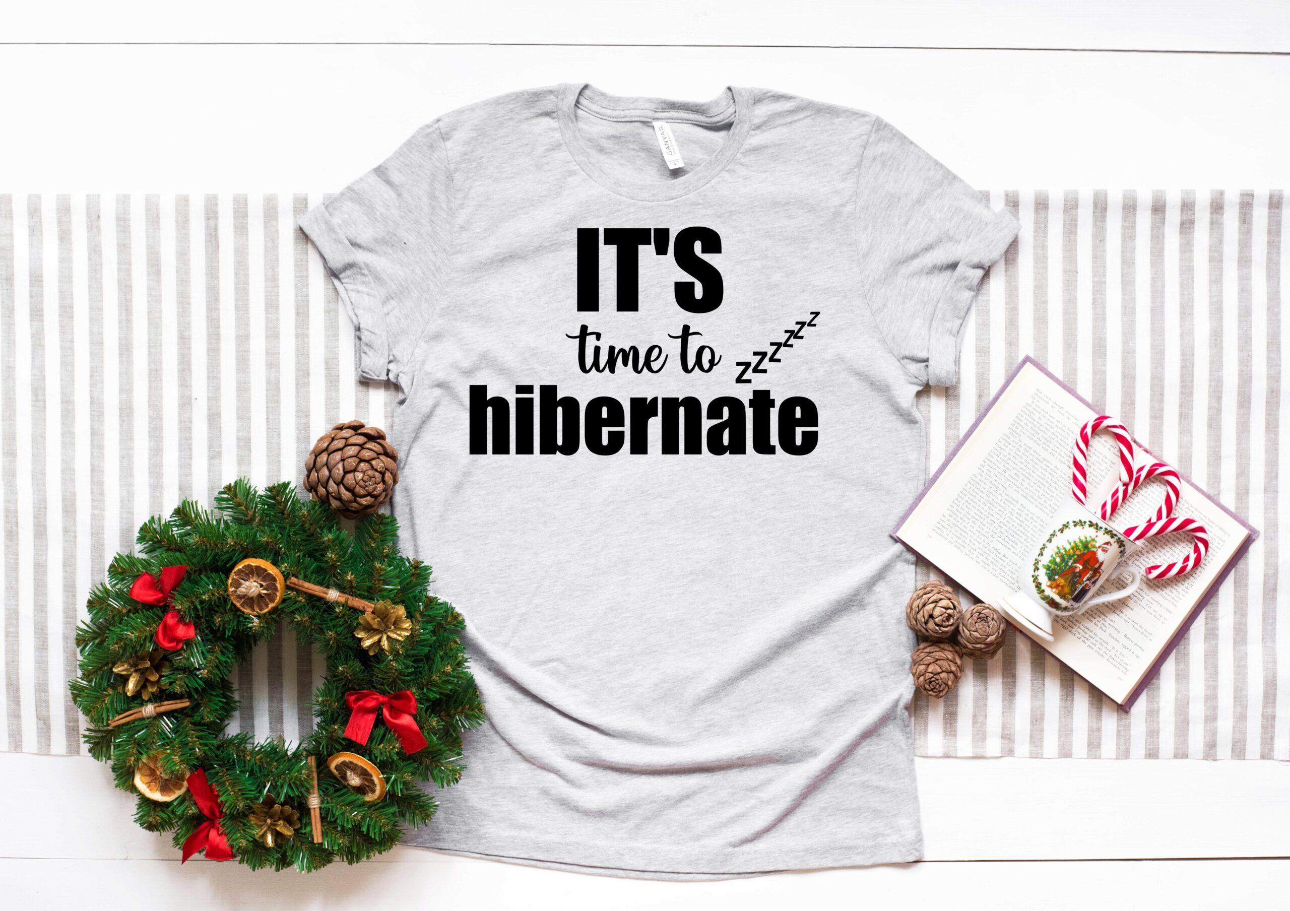 Free It's time to hibernate SVG File