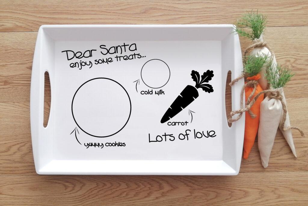 Free Santa Tray SVG File