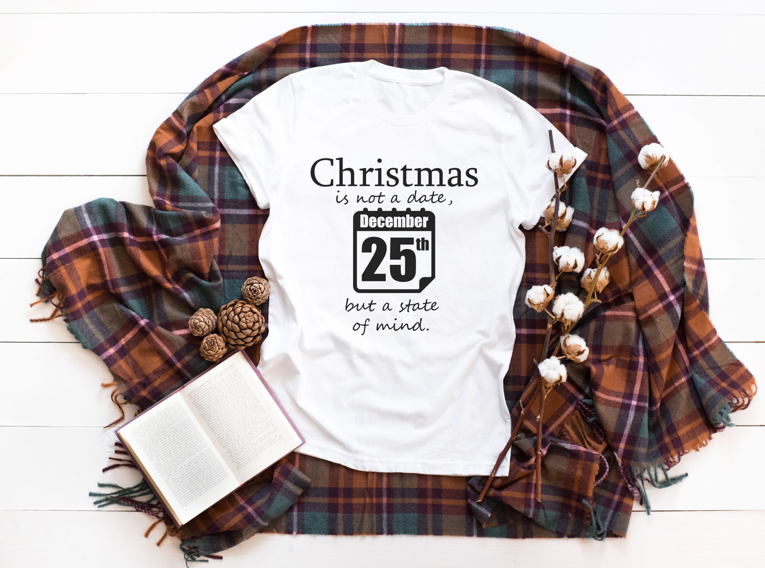 Free Christmas is not a date SVG File
