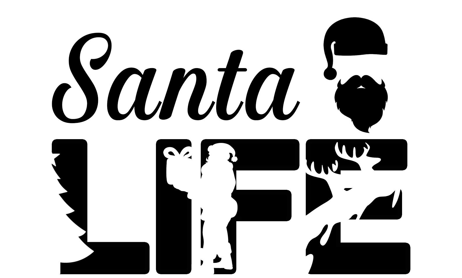 Free Santa Life SVG File