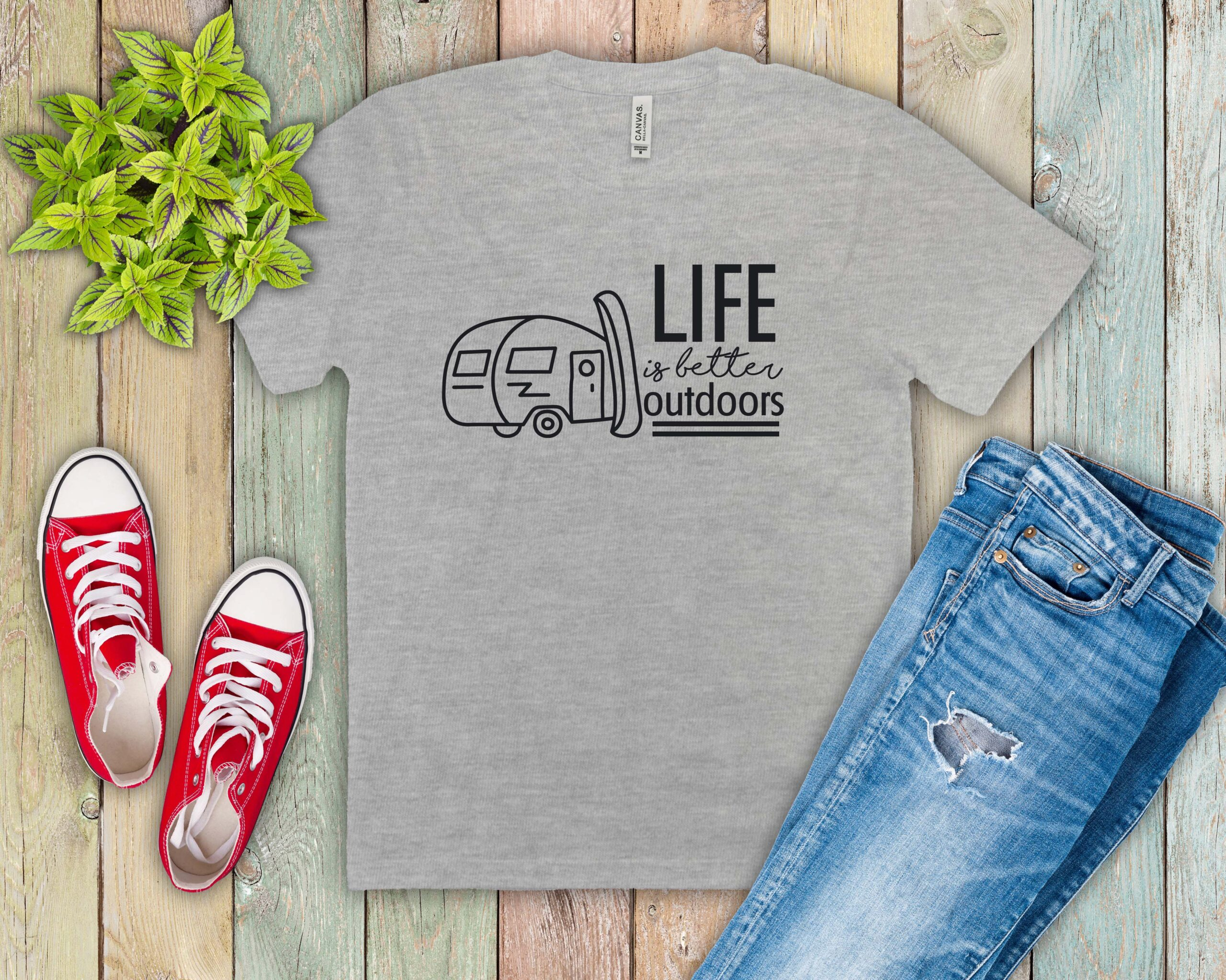 Free Life is Better Outdoors SVG File