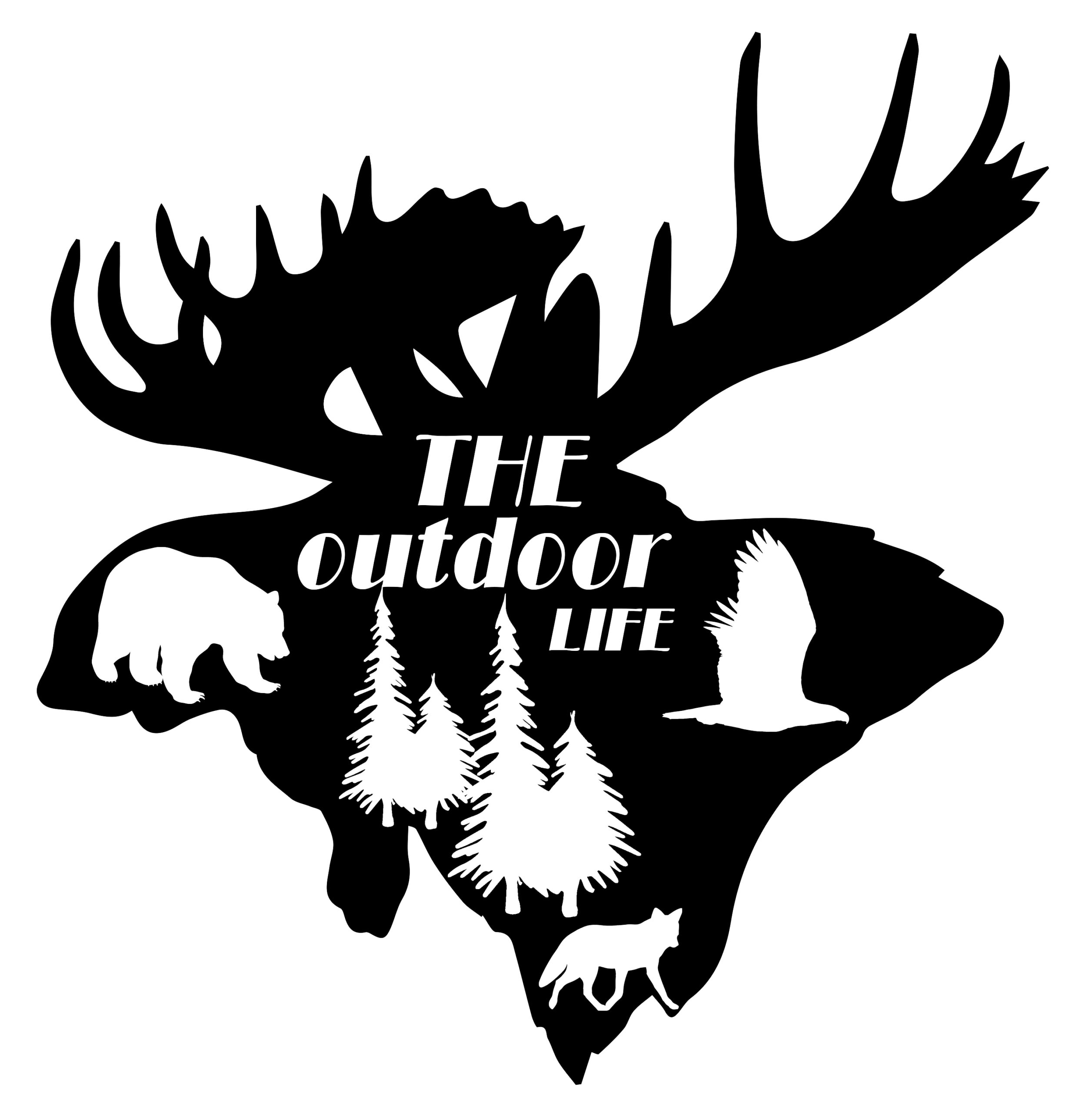 Free The Outdoor Life SVG File