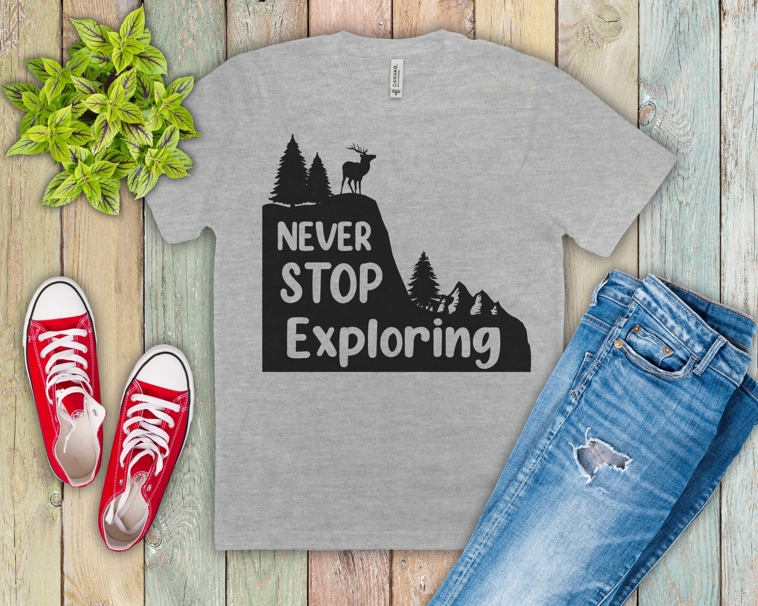 Free Never Stop Exploring SVG File