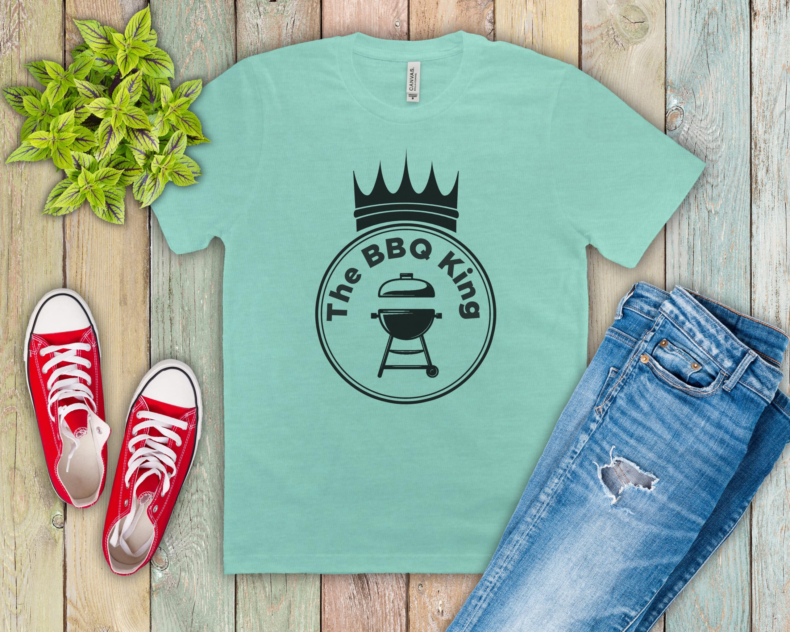 Free The BBQ King SVG File