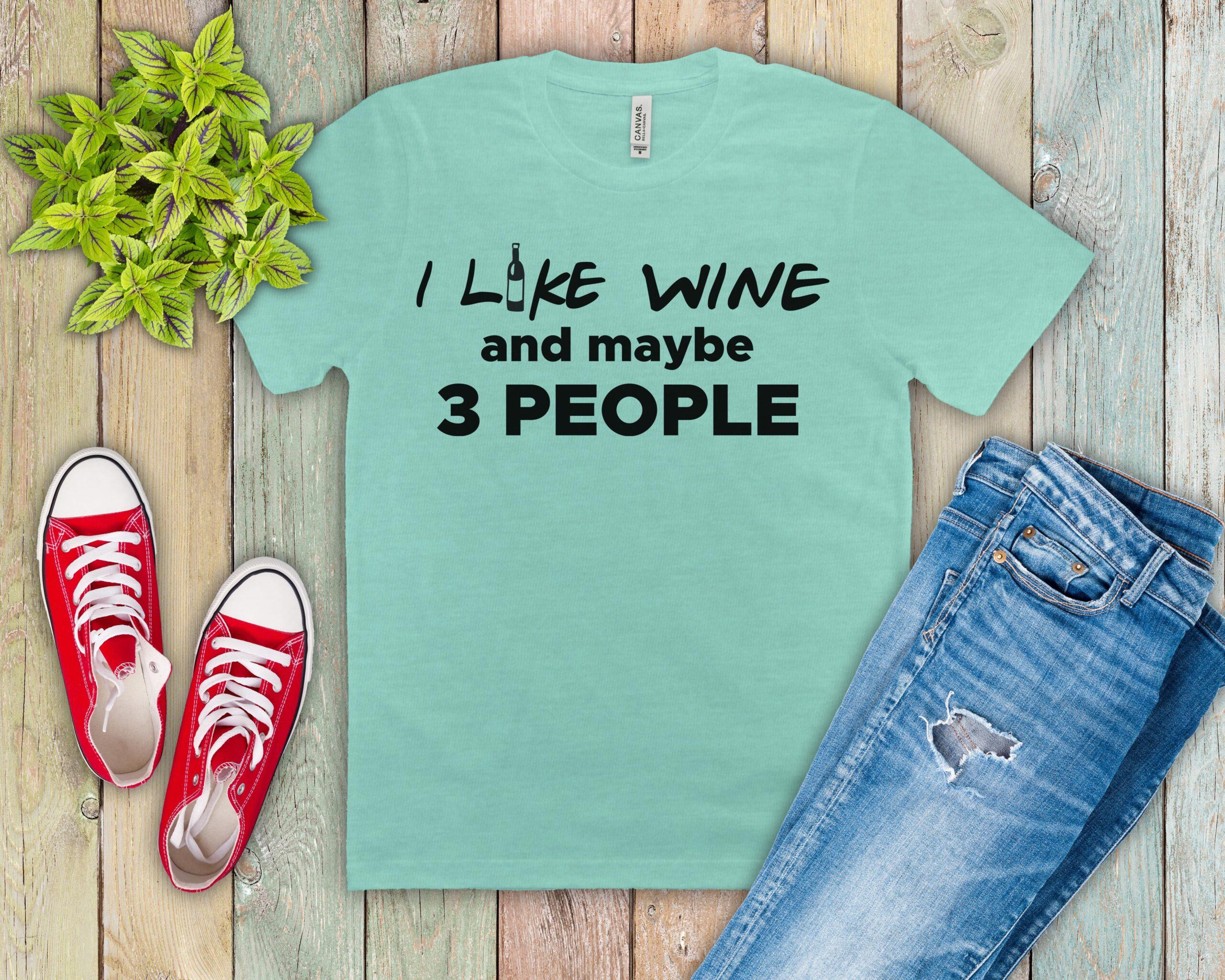 Free I Like Wine SVG File