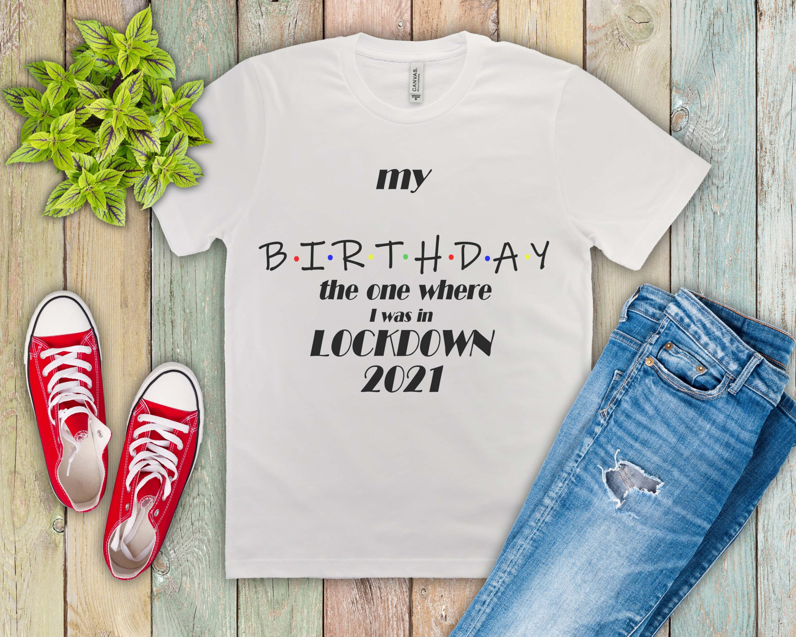 Free Add your own age Lockdown Birthday SVG File
