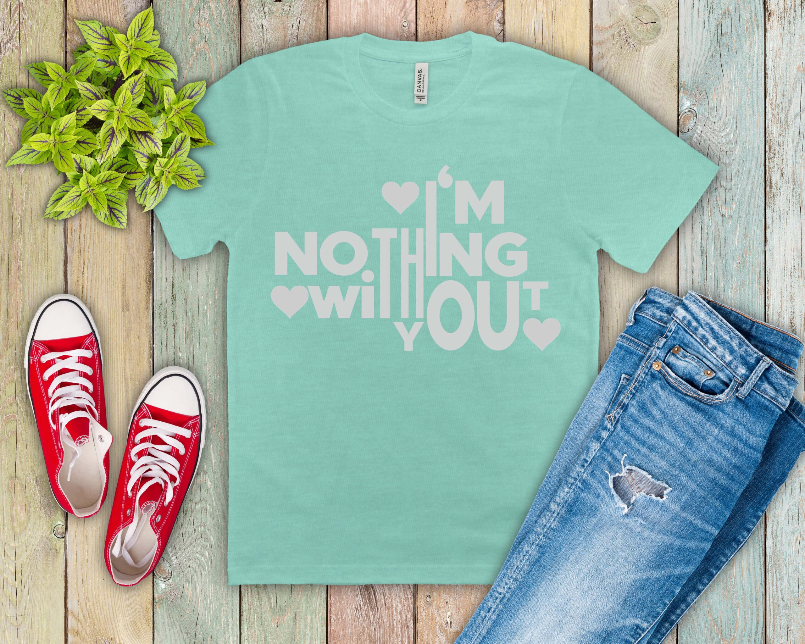 Free I'm Nothing Without You SVG File