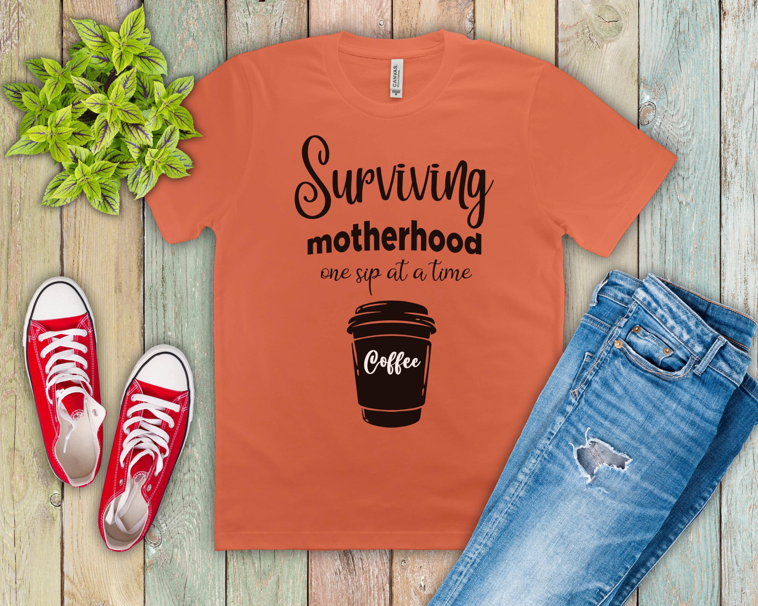 Free Surviving Motherhood SVG File