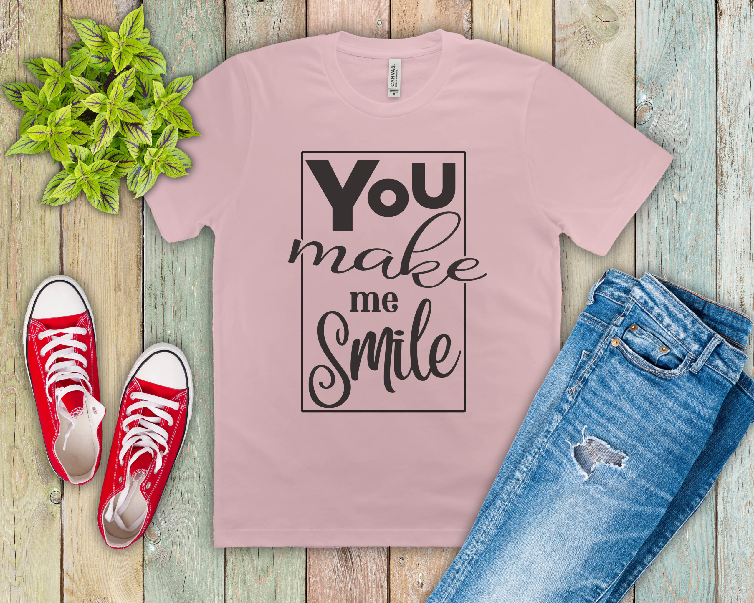 Free You Make Me Smile SVG File