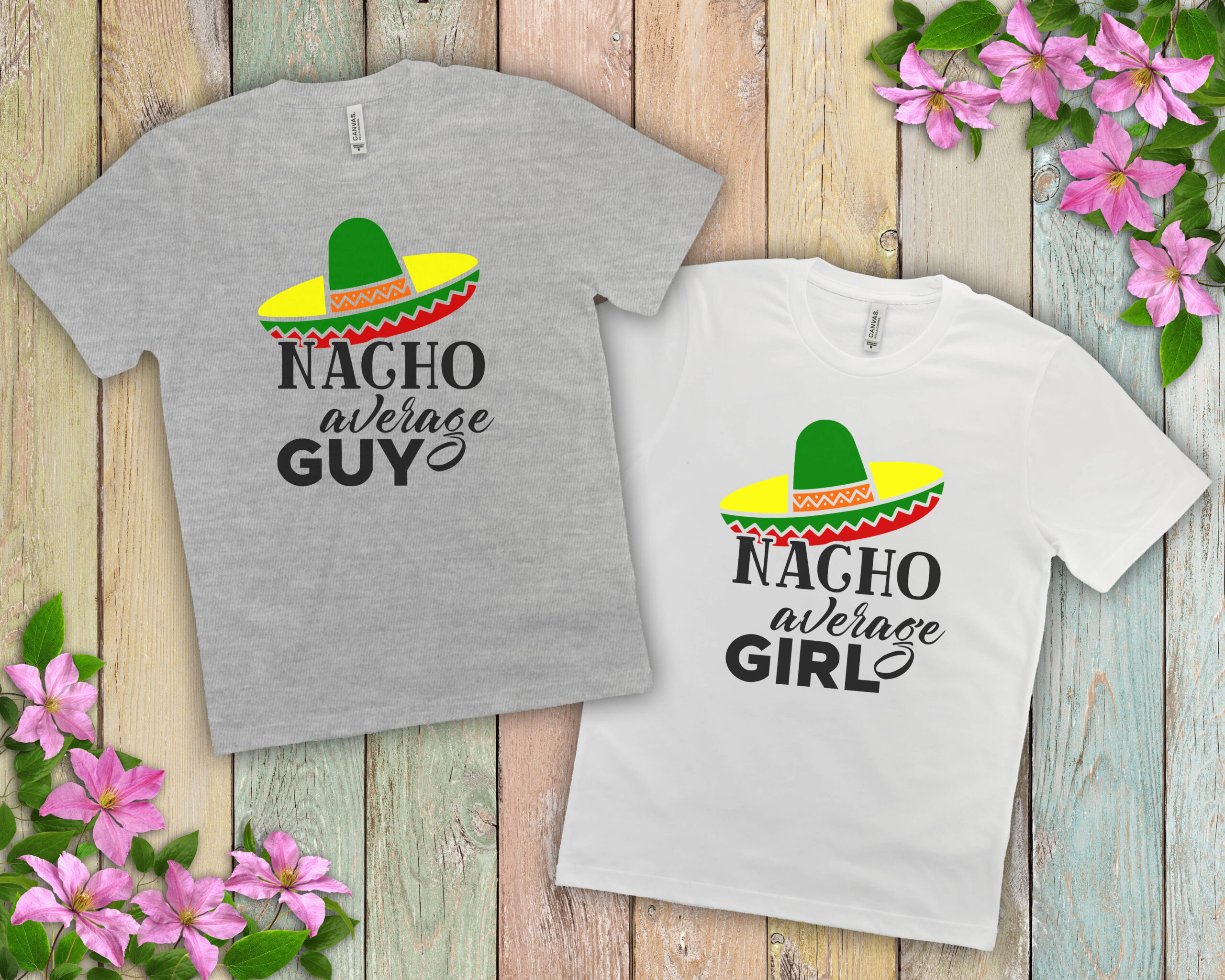 Free Nacho Average Girl SVG File