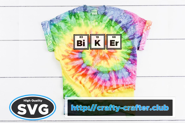 Free Biker SVG File