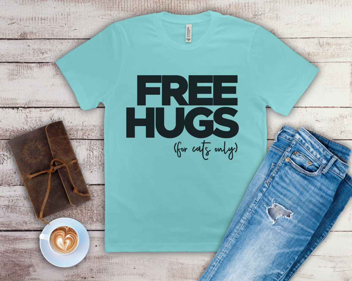 Free Free Hugs for Cats SVG File