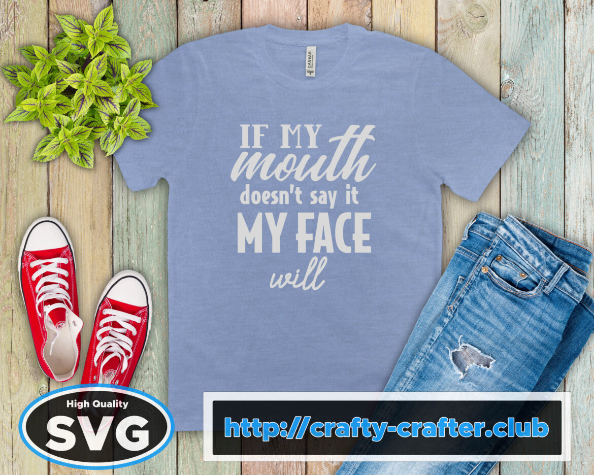 Free My Face Will SVG File